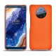 Nokia 9 PureView leather cover - Orange fluo