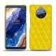 Nokia 9 PureView leather cover - Jaune fluo - Couture