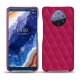 Nokia 9 PureView leather cover - Rose fluo - Couture