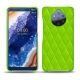 Nokia 9 PureView leather cover - Vert fluo - Couture