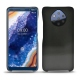 Custodia in pelle Nokia 9 PureView - Onyx ( Black )