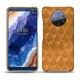 Nokia 9 PureView leather cover - Or Maïa - Couture
