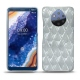 Nokia 9 PureView leather cover - Platinium - Couture