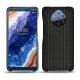 Custodia in pelle Nokia 9 PureView - Abaca nero