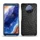 Custodia in pelle Nokia 9 PureView - Autruche nero