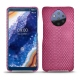 Nokia 9 PureView leather cover - Serpent ciclamino