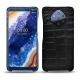 Custodia in pelle Nokia 9 PureView - Crocodile nero
