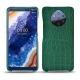 Custodia in pelle Nokia 9 PureView - Crocodile pino