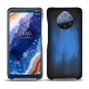 Nokia 9 PureView leather cover - Bleu Patine