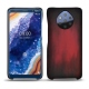 Nokia 9 PureView leather cover - Rouge Patine