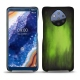 Nokia 9 PureView leather cover - Vert Patine