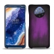 Nokia 9 PureView leather cover - Violet Patine