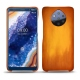 Nokia 9 PureView leather cover - Orange Patine