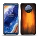 Nokia 9 PureView leather cover - Fauve Patine