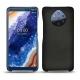가죽 커버 Nokia 9 PureView - Negre poudro