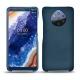 가죽 커버 Nokia 9 PureView - Blu mediterran