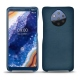 Nokia 9 PureView leather cover - Blu mediterran