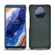 Nokia 9 PureView leather cover - Blu marino