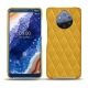 Nokia 9 PureView leather cover - Jaune soulèu - Couture