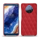 Nokia 9 PureView leather cover - Rouge troupelenc - Couture