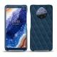 Custodia in pelle Nokia 9 PureView - Blu mediterran - Couture