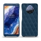 Nokia 9 PureView leather cover - Blu mediterran - Couture