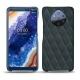 가죽 커버 Nokia 9 PureView - Blu marino - Couture