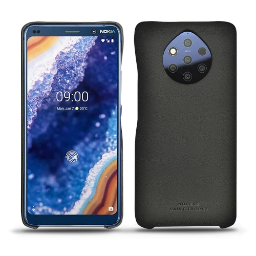 Nokia 9 PureView leather cover - Noir PU