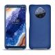 가죽 커버 Nokia 9 PureView - Bleu Océan PU