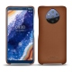 Nokia 9 PureView leather cover - Marron PU