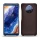 Custodia in pelle Nokia 9 PureView - Marron envoûtant
