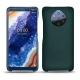 가죽 커버 Nokia 9 PureView - Vert séduisant