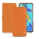 Huawei P30 leather case - Orange - Couture ( Nappa - Pantone 1495U )