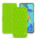 Huawei P30 leather case - Vert fluo - Couture