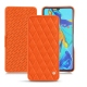 Custodia in pelle Huawei P30 - Orange fluo - Couture