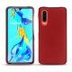 Huawei P30 leather cover - Rouge ( Nappa - Pantone 199C )