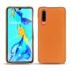 가죽 커버 Huawei P30 - Orange ( Nappa - Pantone 1495U )
