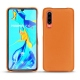 Coque cuir Huawei P30 - Orange ( Nappa - Pantone 1495U )