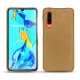 Huawei P30 leather cover - Sable vintage ( Roughtcut - Gaucho#57254 )