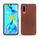 Huawei P30 leather cover - Passion vintage ( Glutton - Red )
