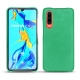 Huawei P30 leather cover - Menthe vintage ( Pantone 562C )