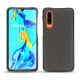 Huawei P30 leather cover - Anthracite ( Pantone 424C )