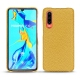 Huawei P30 leather cover - Mimosa ( Pantone 141C )