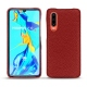 Huawei P30 leather cover - Tomate ( Pantone 187C )