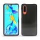 Huawei P30 leather cover - Onyx ( Black )