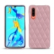 가죽 커버 Huawei P30 - Rose - Couture ( Nappa - Pantone 2365C )