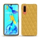 Huawei P30 leather cover - Mimosa - Couture ( Pantone 141C )