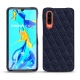Huawei P30 leather cover - Cobalt - Couture ( Pantone 2766C )