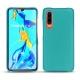 Lederschutzhülle Huawei P30 - Bleu fluo