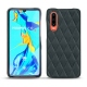 Huawei P30 leather cover - Blu marino - Couture
